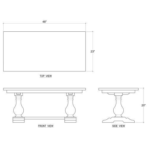 Product Image - Bayside Coffee Table