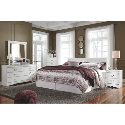 Anarasia Dresser White