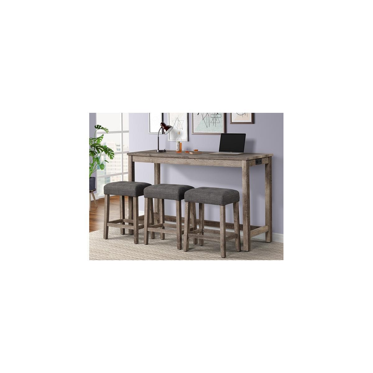 Rowan Bar Table + 3