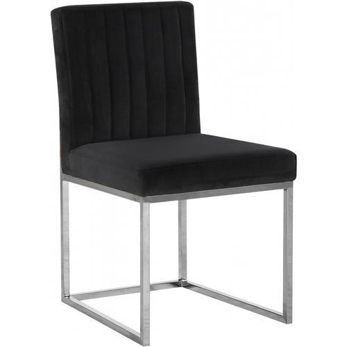 """Giselle Velvet Dining Chair - 18"""" W x 22"""" D x 32"""" H"""