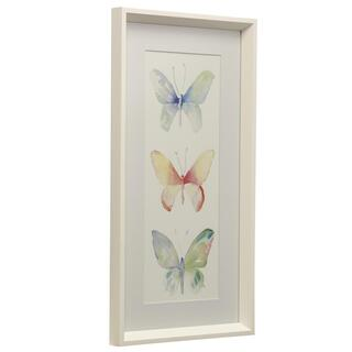 Butterflies II  Made in USA  Juvenile Collection Wall Art  Framed Print Under Glass