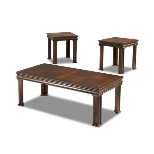 Klaussner - Living Room 3 table pack, 2 end,1 cocktail 206-001 3PAK