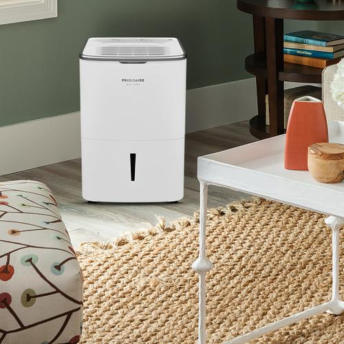 Frigidaire Gallery High Humidity 50 Pint Capacity Dehumidifier with Wi-Fi