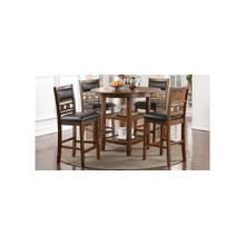 See Details - Pub Table & 4 Chairs