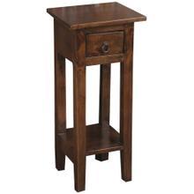 See Details - Cottage Side Table - Java Brown