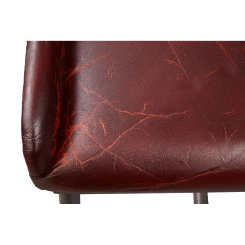 Product Image - Brandon Industrial Leather Barstool