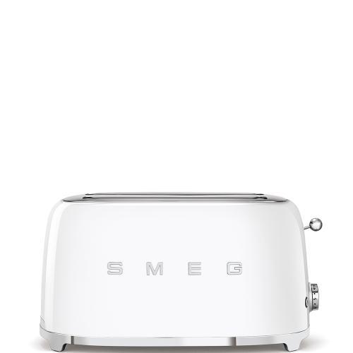 4x2 Slice Toaster, White