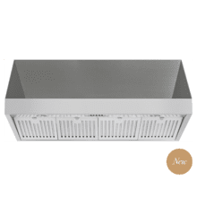 48 Inch Professional Wall Mounted Range Hood, 24 Inches Tall