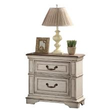 Anastasia Nightstand Antique Bisque