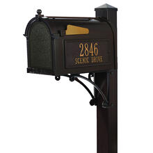 See Details - Superior Mailbox Package - Bronze
