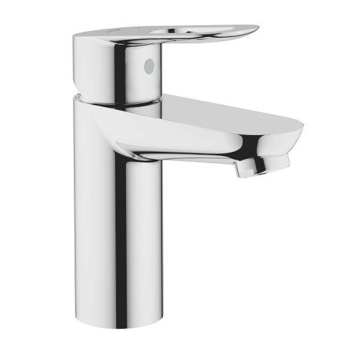 Bauloop Single Hole Single-handle S-size Bathroom Faucet 1.5 Gpm Less Drain