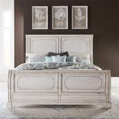 King California Sleigh Bed