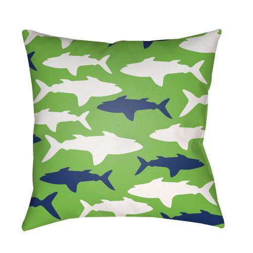 """Sharks LIL-074 18""""H x 18""""W"""