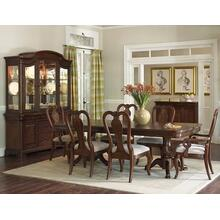 Evolution Pedestal Dining Room & Queen Anne Chairs