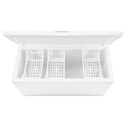 22 cu. ft. Amana® Chest Freezer with 3 Wire Baskets - white