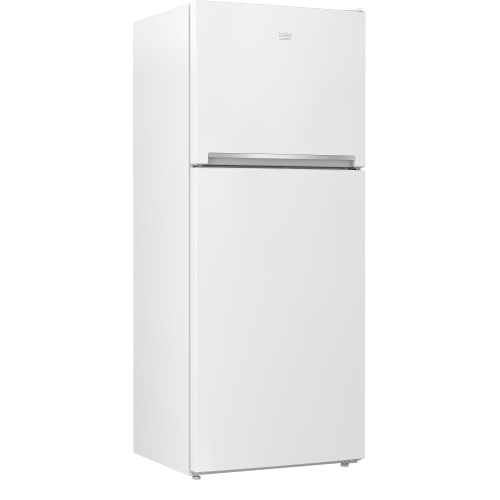 "Beko - 28"" Freezer Top White Refrigerator"