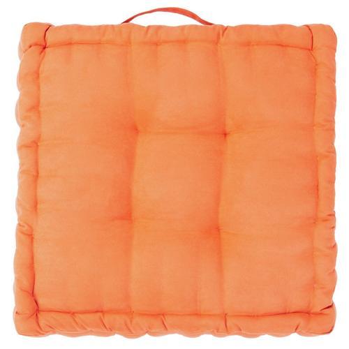 Gardenia Floor Pillow - Orange