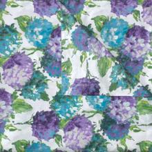 Retired Hydrangea Duvet Cover & Shams, BLUE, FQ