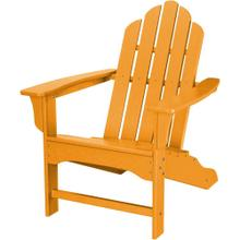 Hanover All-Weather Contoured Adirondack Chair - Tangerine, HVLNA10TA