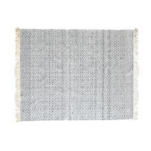 Maderia I 120 x 96 Gray/White Pattern Rug