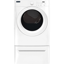 See Details - Crosley Front Load Dryer - White