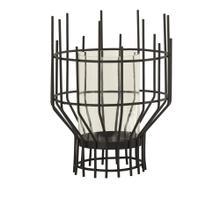 See Details - Medium Brynn Industrial Modern Wire Candle Holder