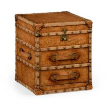 Steamer chest of drawers
