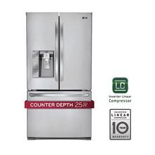 Ultra-Large Capacity Counter Depth 3 Door French Door Refrigerator with Smart Cooling Plus