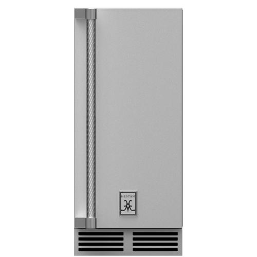 "Hestan - 15"" Outdoor Ice Machine, Right Hinge"