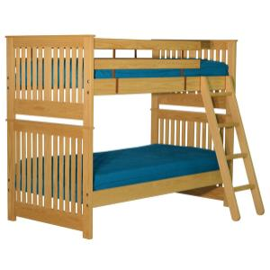 Bunkbed, Double over Double, extra-long
