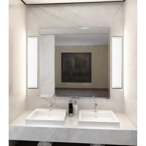 Cal Lighting & Accessories - integrated LED 26W, 1950 Lumen, 80 CRI Dimmable Vanity Light With Acrylic Diffuser