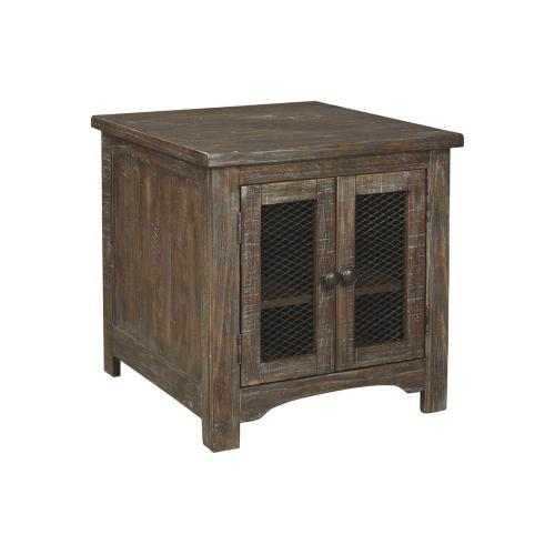 Danell Ridge Rectangular End Table Brown