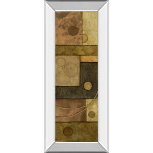 """Circle Game I"" By Norm Olson Mirror Framed Print Wall Art"