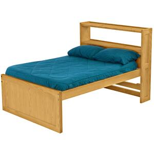 Captain's Bookcase Bed, Double