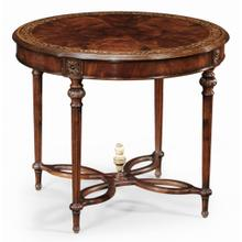 Napoleon III mahogany centre table (Plain base)