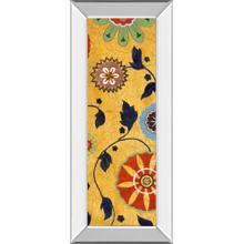 """""""Persia Il"""" By Tava Studios Mirror Framed Print Wall Art"""