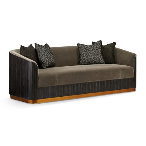 Fusion Macassar Sofa