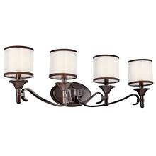 Lacey 4 Light Vanity Light Misson Bronze