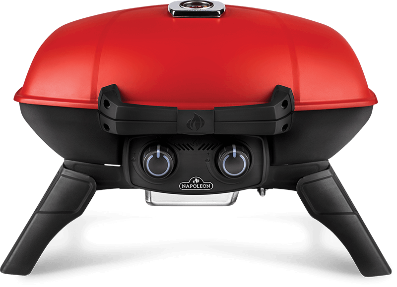 Napoleon BBQTravelq 285 With Griddle , Red , Propane
