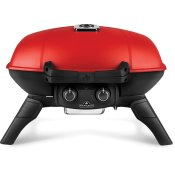 TravelQ 285 with Griddle , Red , Propane