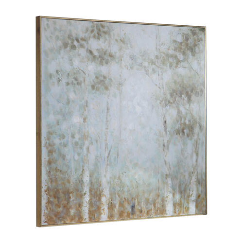Cotton Woods Hand Painted Canvas