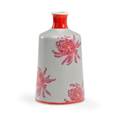 Chrysanthemum Vase - Gray