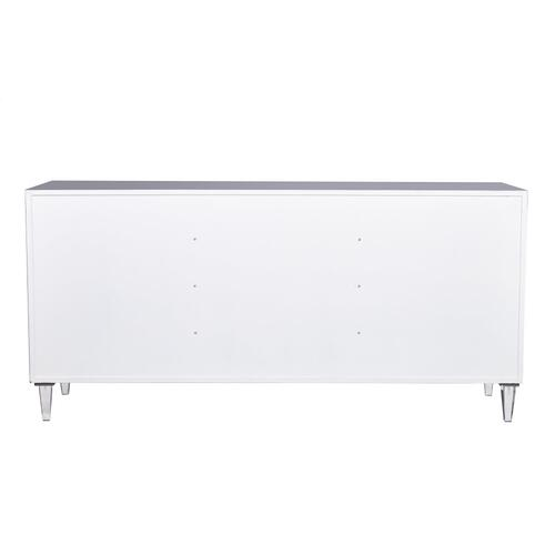 Tov Furniture - Andros Grey Lacquer Buffet