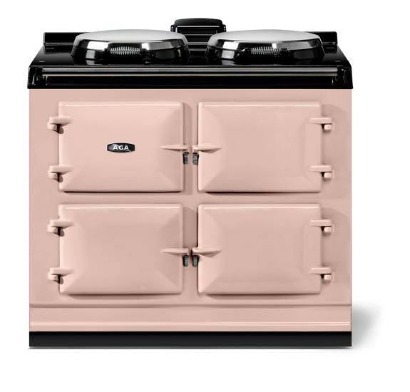 "AGAAga Classic 39"" Dual Control Electric-Only Model, Blush"
