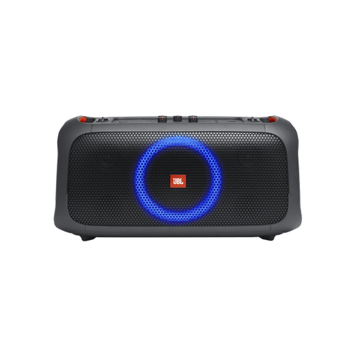 Jbl - JBL PartyBox On-The-Go Portable party speaker with built-in lights and wireless mic