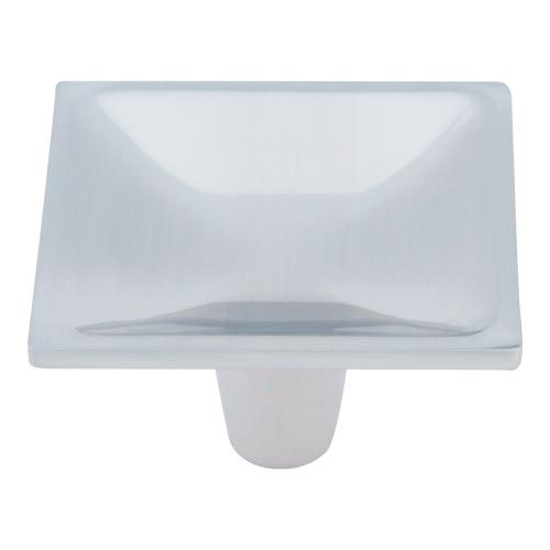 Dap Square Knob 2 Inch - Brushed Nickel