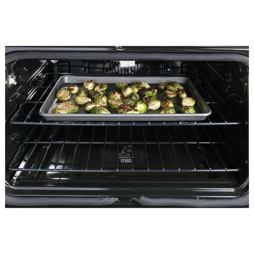 """Cafe - Café™ 30"""" Smart Slide-In, Front-Control, Induction and Convection Range in Platinum Glass"""