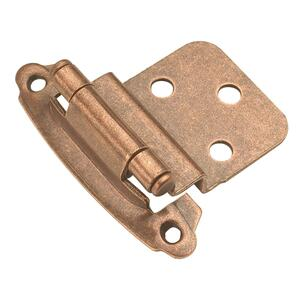 Surface Self-Closing 3/8 In. Inset Hinge (2-Pack) Product Image