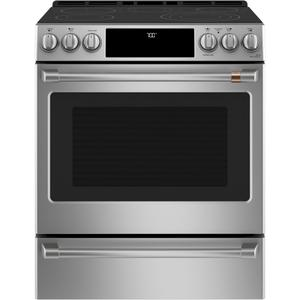 "Café 30"" Smart Slide-In, Front-Control, Radiant and Convection Range Product Image"