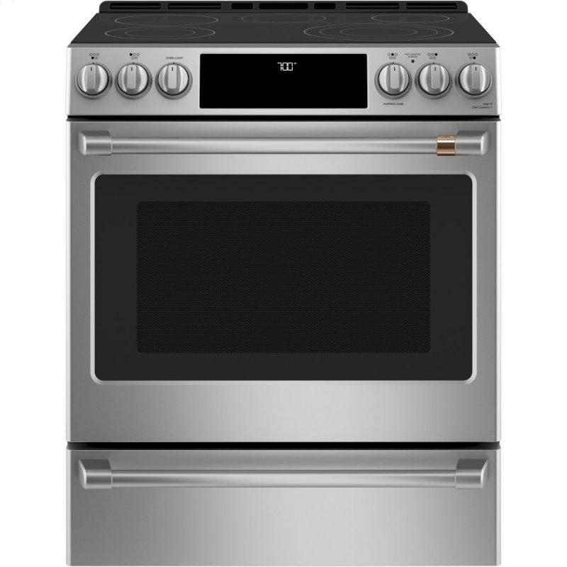 """30"""" Smart Slide-In, Front-Control, Radiant and Convection Range"""
